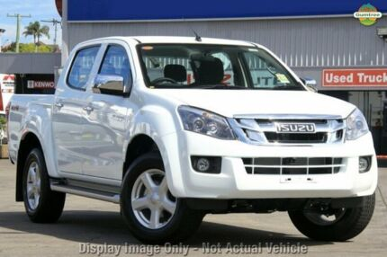 2015 Isuzu D-MAX MY15 LS-U Crew Cab Splash White 5 Speed Auto Seq Sportshift Utility Greenacre Bankstown Area Preview