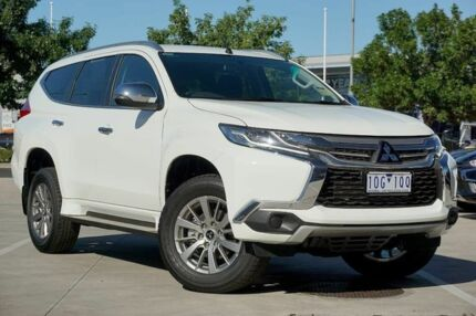2018 Mitsubishi Pajero Sport QE MY18 GLX White 8 Speed Sports Automatic Wagon Strathmore Heights Moonee Valley Preview