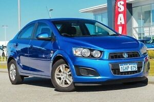 2014 Holden Barina TM MY14 CD Blue 5 Speed Manual Sedan East Rockingham Rockingham Area Preview