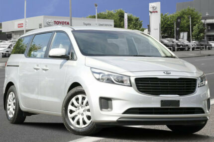 2015 Kia Carnival YP MY15 S Silver 6 Speed Sports Automatic Wagon Adelaide CBD Adelaide City Preview