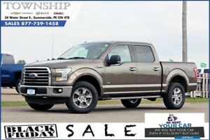 2015 Ford F-150 XLT - $17/Day! - 4WD - Super Crew - Loaded!