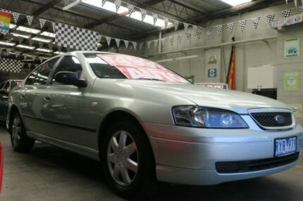 2002 Ford Falcon BA Futura (LPG) 4 Speed Auto Seq Sportshift Sedan Mordialloc Kingston Area Preview
