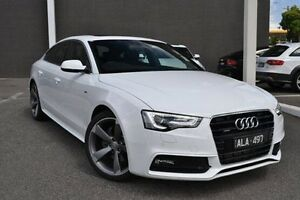 2016 Audi A5 8T MY16 Sportback S tronic quattro White 7 Speed Sports Automatic Dual Clutch Hatchback Burwood Whitehorse Area Preview