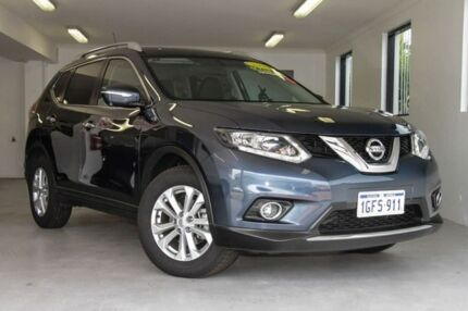 2016 Nissan X-Trail T32 ST-L X-tronic 2WD Blue 7 Speed Constant Variable Wagon Willagee Melville Area Preview