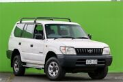1997 Toyota Landcruiser Prado VZJ95R RV6 White 5 Speed Manual Wagon Ringwood East Maroondah Area Preview