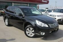 2012 Subaru Outback B5A MY12 2.5i Lineartronic AWD Black 6 Speed Constant Variable Wagon Wangara Wanneroo Area Preview