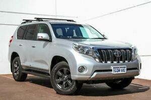 2015 Toyota Landcruiser Prado KDJ150R MY14 Altitude Silver 5 Speed Sports Automatic Wagon