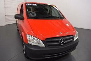 2012 Mercedes-Benz Vito 639 MY11 116CDI SWB Red Automatic Van
