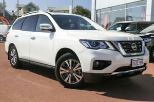 2018 Nissan Pathfinder R52 Series II MY17 ST-L X-tronic 4WD White 1 Speed Constant Variable Wagon Clarkson Wanneroo Area Preview