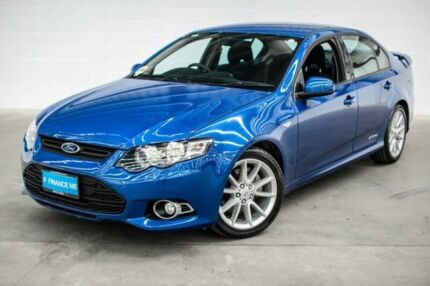 2014 Ford Falcon FG MkII XR6 Turbo Blue 6 Speed Manual Sedan Thornlie Gosnells Area Preview