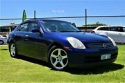 2002 Nissan Skyline V35 350GT Blue Automatic Sedan East Rockingham Rockingham Area Preview