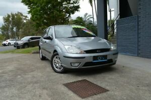 2004 Ford Focus LR MY2003 LX Silver 4 Speed Auto Hatchback Ashmore Gold Coast City Preview