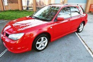 2006 Subaru Impreza S MY06 R AWD Red 5 Speed Manual Hatchback Heatherton Kingston Area Preview