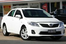 2013 Toyota Corolla ZRE152R Ascent Sport Glacier White 4 Speed Automatic Sedan Woolloongabba Brisbane South West Preview