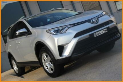 2015 Toyota RAV4 ALA49R MY16 GX (4x4) Silver 6 Speed Automatic Wagon