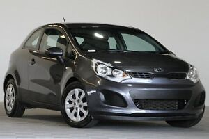 2014 Kia Rio UB MY14 S Grey 4 Speed Automatic Hatchback Coopers Plains Brisbane South West Preview