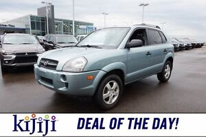 2007 Hyundai Tucson GL Accident Free,  A/C,
