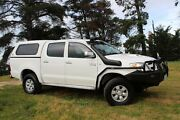 2005 Toyota Hilux KUN26R MY05 SR5 White 5 Speed Manual Utility Beaconsfield Cardinia Area Preview