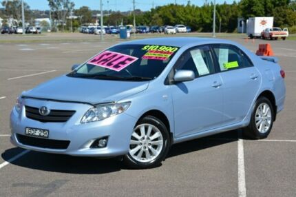 2007 Toyota Corolla ZRE152R Conquest Blue 6 Speed Manual Sedan New Lambton Newcastle Area Preview