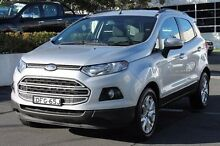 2014 Ford Ecosport BK Trend PwrShift Silver 6 Speed Sports Automatic Dual Clutch Wagon Brookvale Manly Area Preview