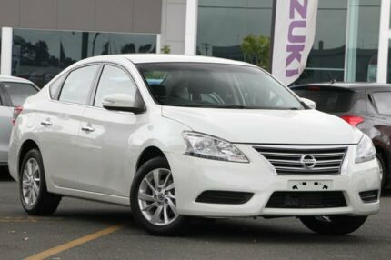 2014 Nissan Pulsar B17 ST White 1 Speed Constant Variable Sedan Nundah Brisbane North East Preview