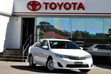 2014 Toyota Camry ASV50R Altise Diamond White 6 Speed Automatic Sedan Old Guildford Fairfield Area Preview