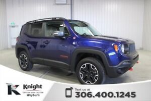 2017 Jeep Renegade Trailhawk Heated Leather Back-Up Cam NAV Remo