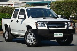2011 Holden Colorado RC MY11 LX-R Crew Cab Alpine White 4 Speed Automatic Utility Acacia Ridge Brisbane South West Preview