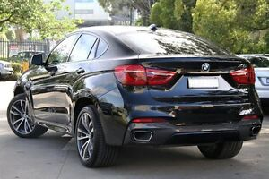 2015 BMW X6 F16 xDrive 30D Black 8 Speed Automatic Coupe Petersham Marrickville Area Preview