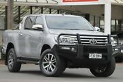 2016 Toyota Hilux GUN126R SR5 Double Cab Silver Sky 6 Speed Sports Automatic Utility Christies Beach Morphett Vale Area Preview