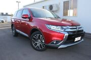 2017 Mitsubishi Outlander ZK MY18 LS AWD Red 6 Speed Constant Variable Wagon Devonport Devonport Area Preview