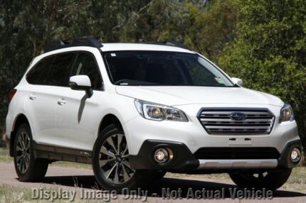 2015 Subaru Outback MY15 2.5I Crystal White 0 Speed Continuous