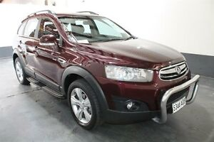 2011 Holden Captiva CG Series II 7 CX (4x4) Red 6 Speed Automatic Wagon Pennington Charles Sturt Area Preview