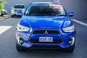 2015 Mitsubishi ASX XB MY15.5 LS 2WD Lightning Blue 6 Speed Constant Variable Wagon Osborne Park Stirling Area Preview