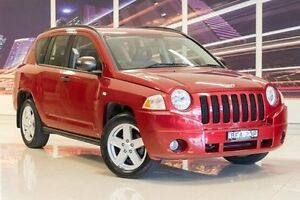 2007 Jeep Compass MK Sport CVT Auto Stick Red 6 Speed Constant Variable Wagon Blacktown Blacktown Area Preview