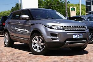 2011 Land Rover Range Rover Evoque L538 MY12 Si4 CommandShift Pure Grey 6 Speed Sports Automatic Osborne Park Stirling Area Preview