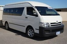 2008 Toyota Hiace KDH223R MY08 Commuter High Roof Super LWB White 5 Speed Manual Bus Pearsall Wanneroo Area Preview
