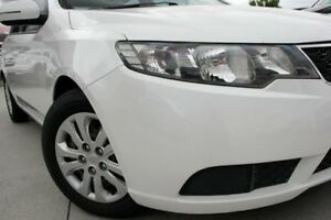 2011 Kia Cerato TD MY11 S White 6 Speed Sports Automatic Sedan