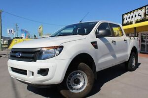 2014 Ford Ranger PX XL Double Cab White 6 Speed Manual Utility Telarah Maitland Area Preview