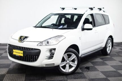 2010 Peugeot 4007 ST DCS Auto HDi White 6 Speed Sports Automatic Dual Clutch Wagon Edgewater Joondalup Area Preview