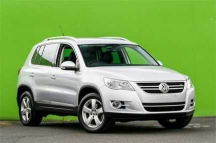 2009 Volkswagen Tiguan 5N MY09 147TSI 4MOTION Silver 6 Speed Sports Automatic Wagon