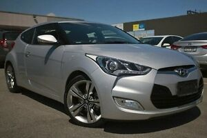 2014 Hyundai Veloster FS4 Series II + Coupe D-CT Silver 6 Speed Sports Automatic Dual Clutch Dandenong Greater Dandenong Preview