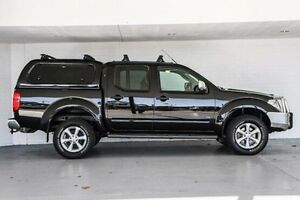 2012 Nissan Navara D40 S5 MY12 ST-X 550 Black 7 Speed Sports Automatic Utility Bellevue Swan Area Preview