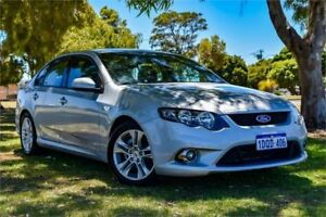 2011 Ford Falcon FG Upgrade XR6 Silver 6 Speed Auto Seq Sportshift Sedan
