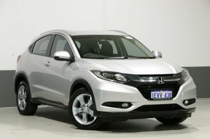 2015 Honda HR-V VTi-S Silver Continuous Variable Wagon Bentley Canning Area Preview