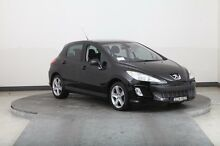 2008 Peugeot 308 XSE Turbo Black 4 Speed Automatic Hatchback Smithfield Parramatta Area Preview