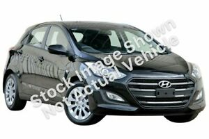 2016 Hyundai i30 GD4 Series II MY17 Active Black 6 Speed Sports Automatic Hatchback