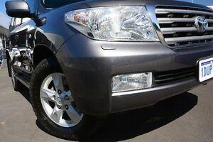 2011 Toyota Landcruiser VDJ200R MY10 Sahara Graphite 6 Speed Automatic Wagon Glendalough Stirling Area Preview