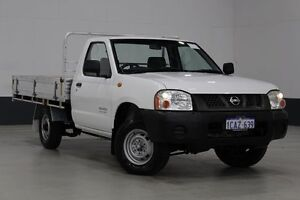 2005 Nissan Navara D22 DX (4x2) White 5 Speed Manual Cab Chassis Bentley Canning Area Preview