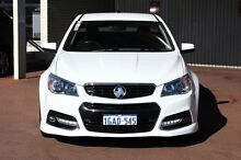 2013 Holden Ute VF MY14 SS V Ute White 6 Speed Manual Utility Northbridge Perth City Preview